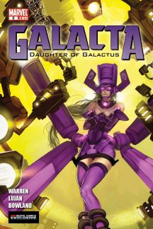 Galacta: Daughter of Galactus #0