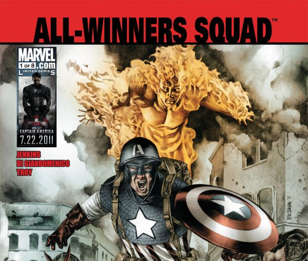 All-Winners Squad: Band of Heroes (2011) #1 Cover