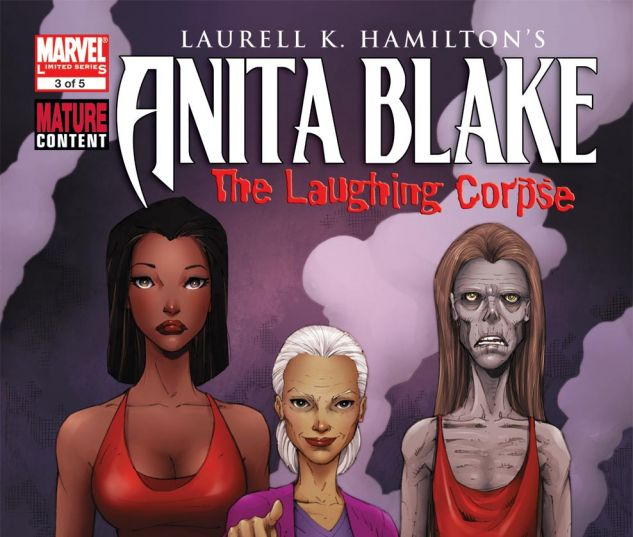 ANITA BLAKE, VAMPIRE HUNTER: THE LAUGHING CORPSE (2008) #3 Cover