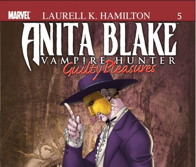 ANITA BLAKE, VAMPIRE HUNTER: GUILTY PLEASURES (2006) #5