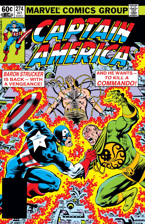 Captain America (1968) #274