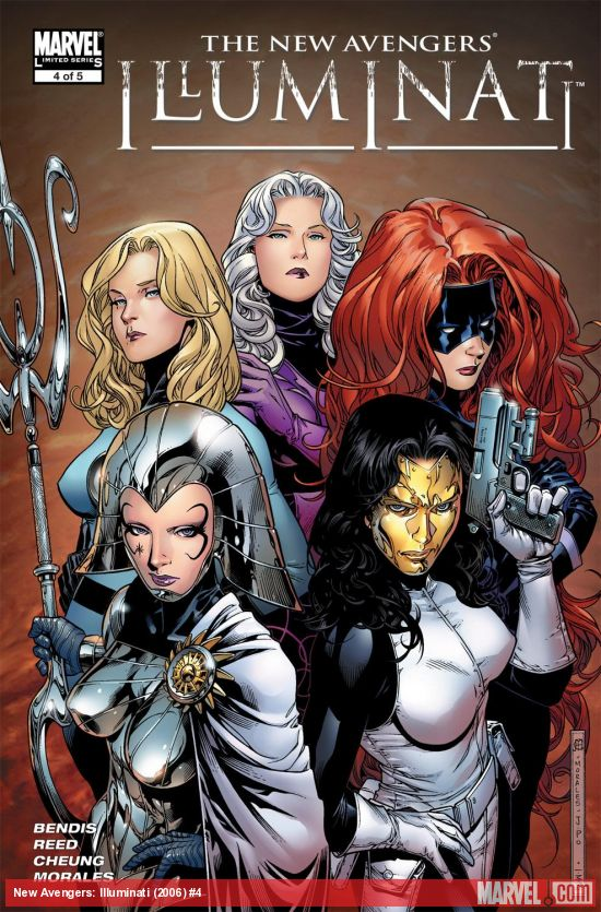 New Avengers: Illuminati (2006) #4