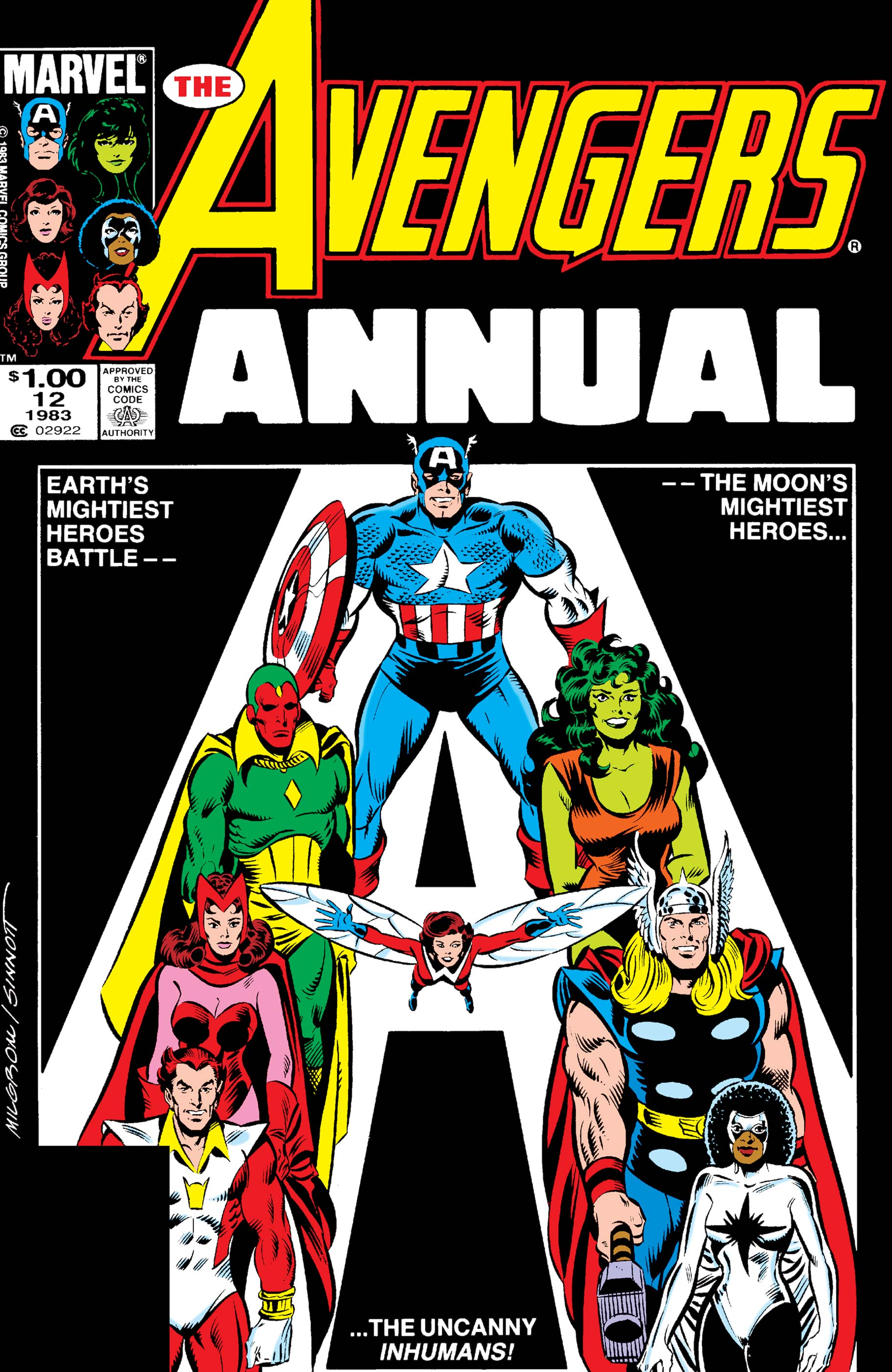 Avengers Annual (1967) #12