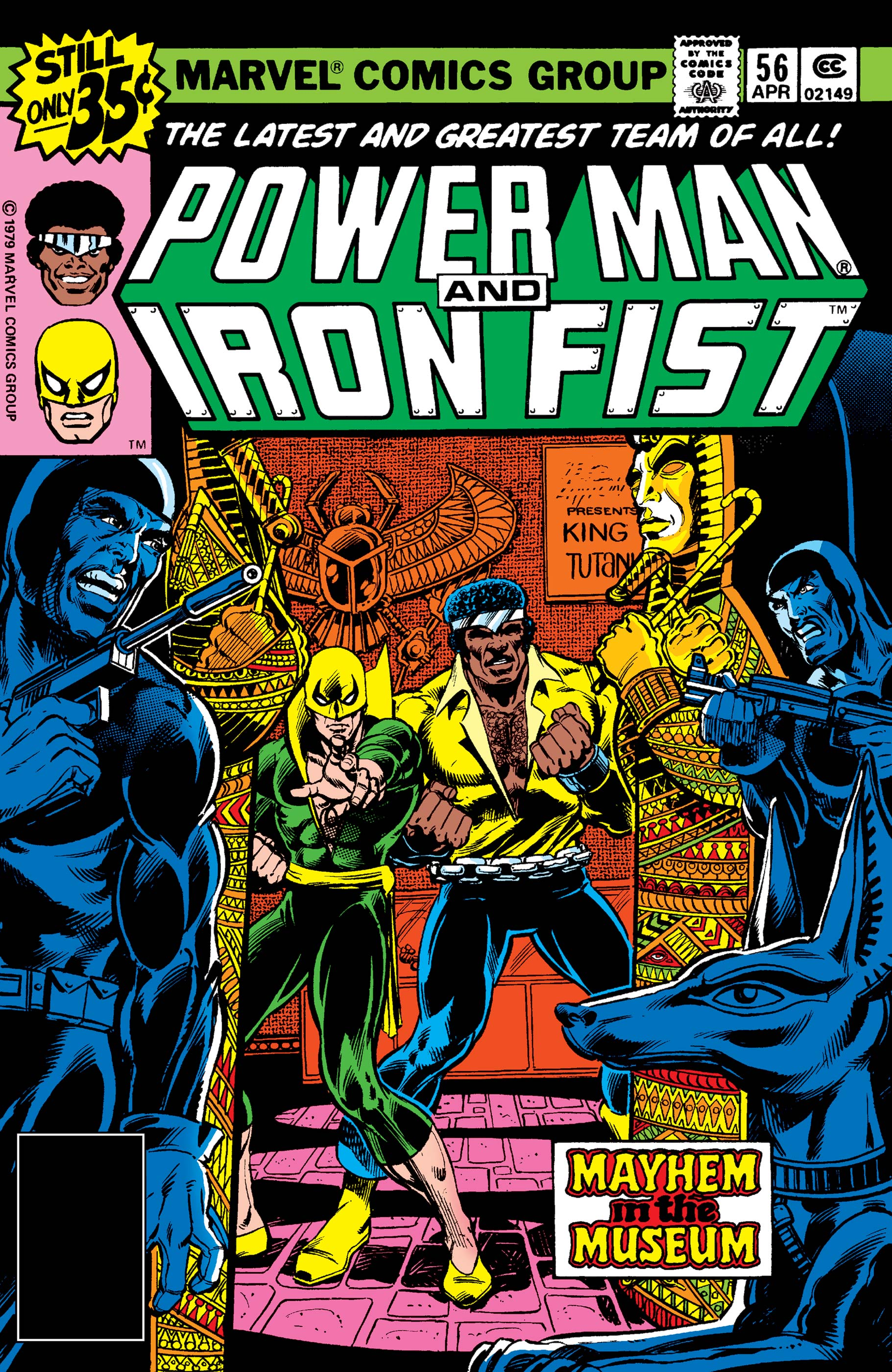 Power Man and Iron Fist (1978) #56