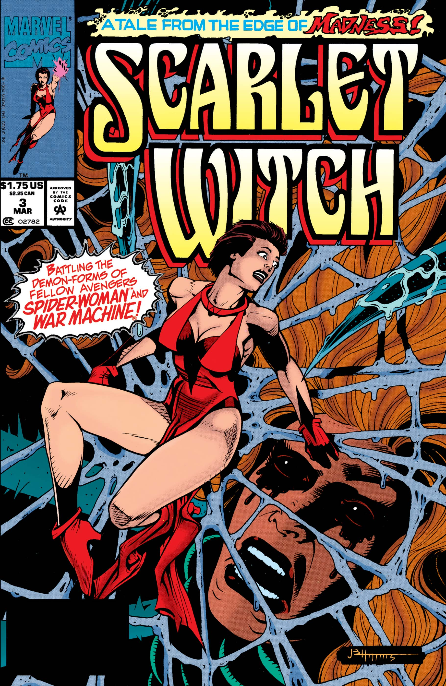 Scarlet Witch (1994) #3
