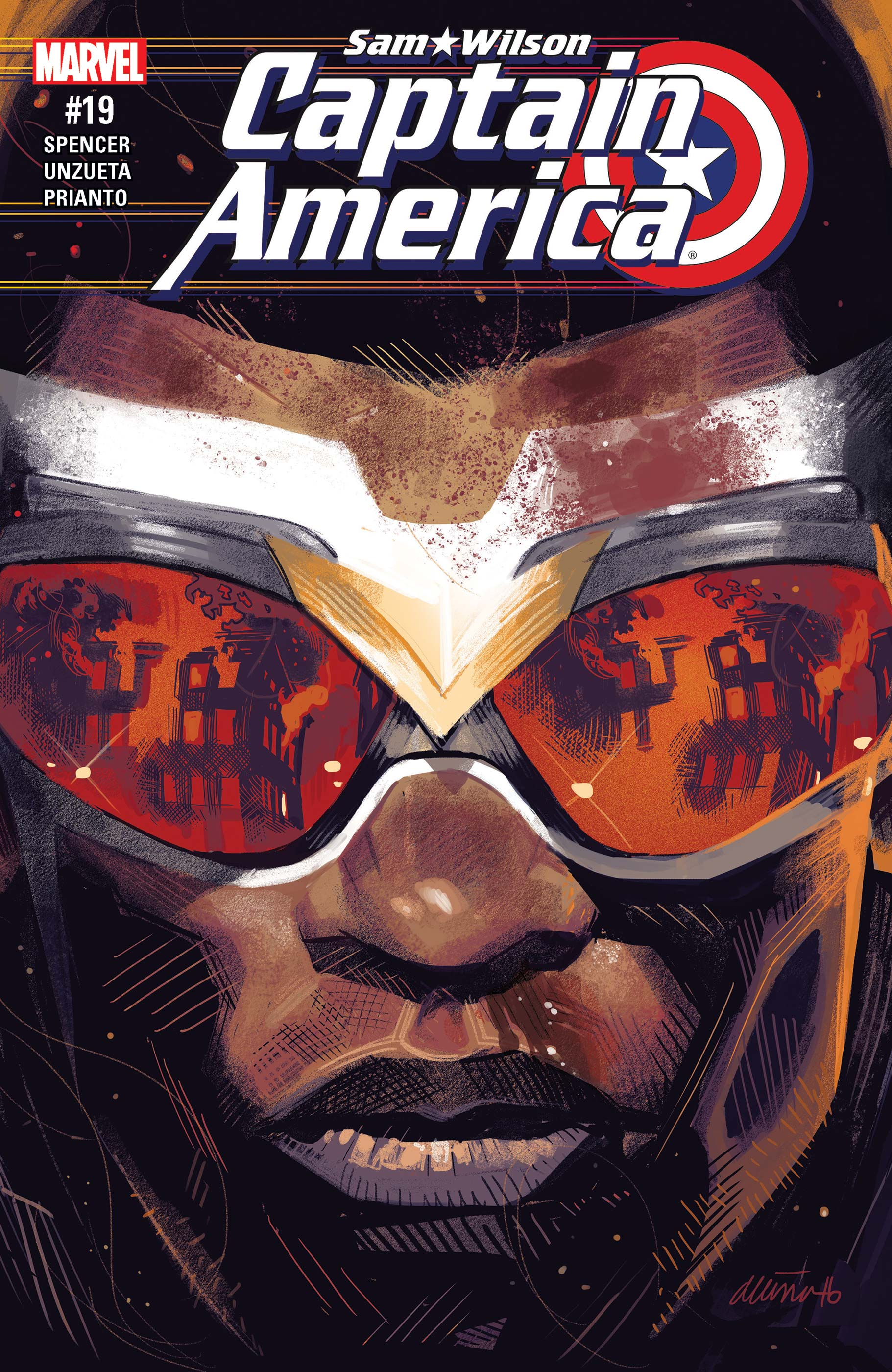 Captain America: Sam Wilson (2015) #19