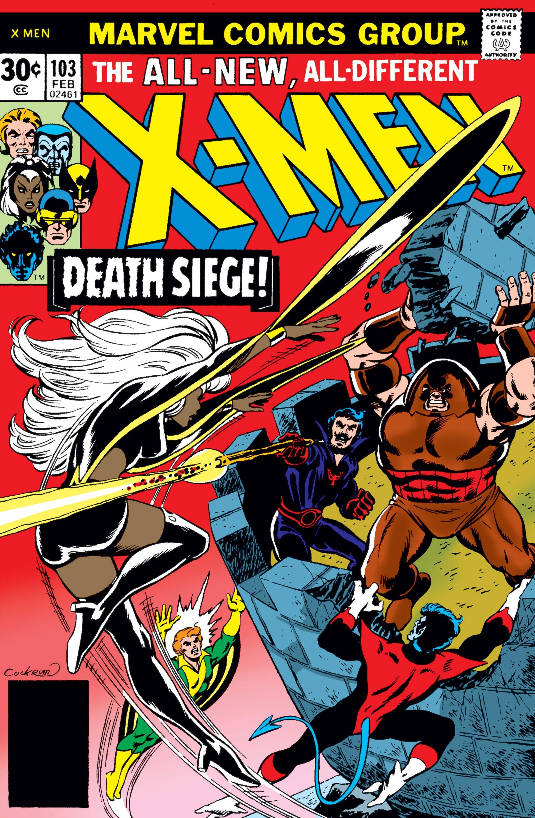 Uncanny X-Men (1963) #103