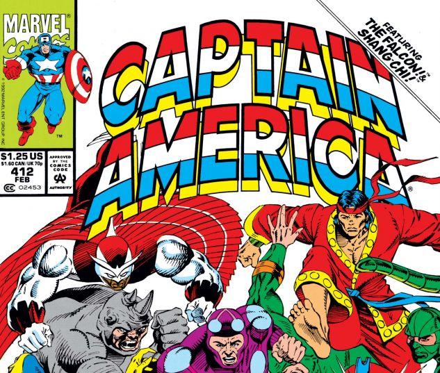 Captain America (1968) #412