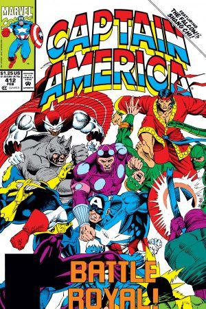 Captain America #412