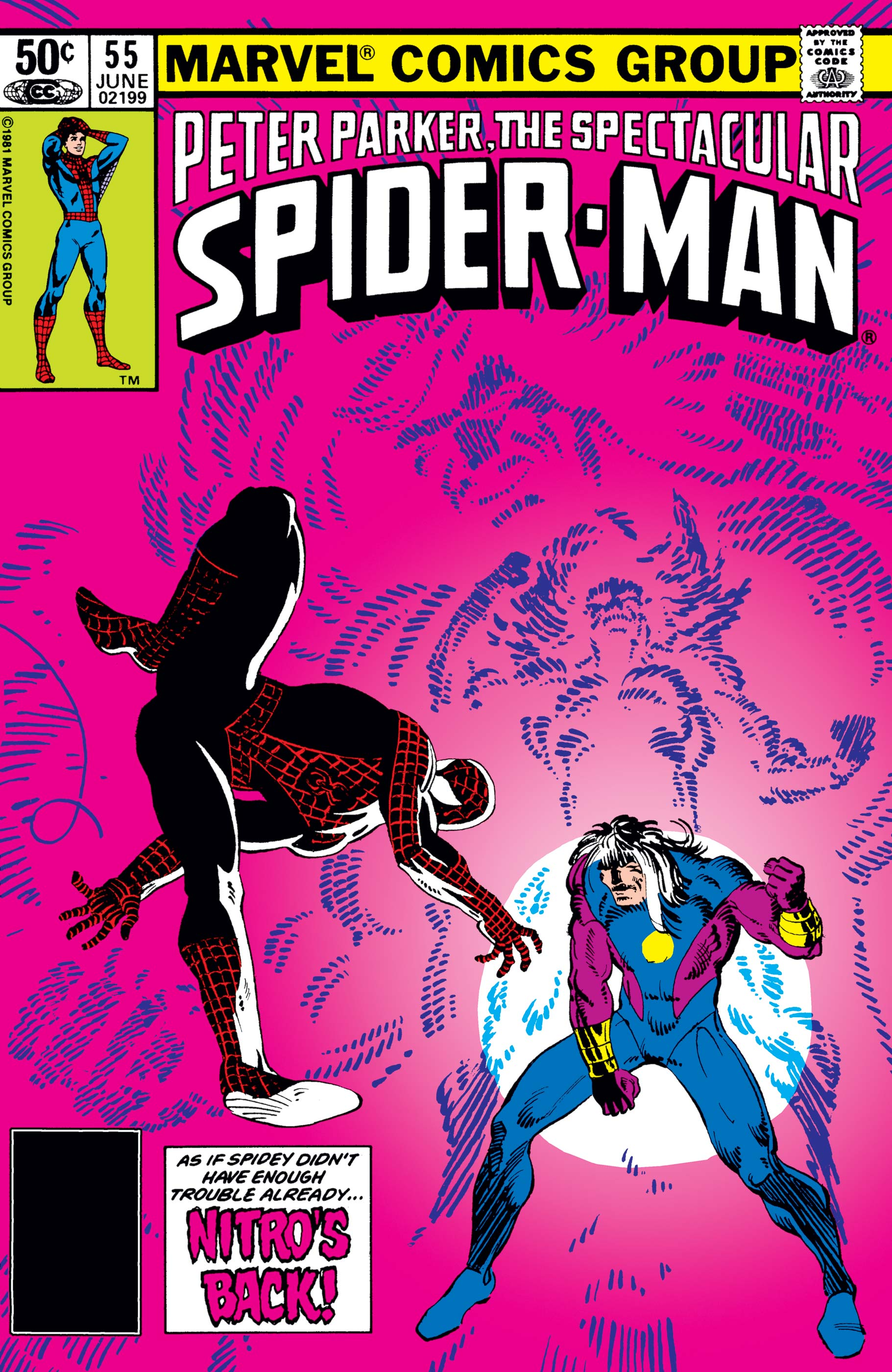 Peter Parker, the Spectacular Spider-Man (1976) #55