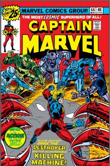 Captain Marvel (1968) #44