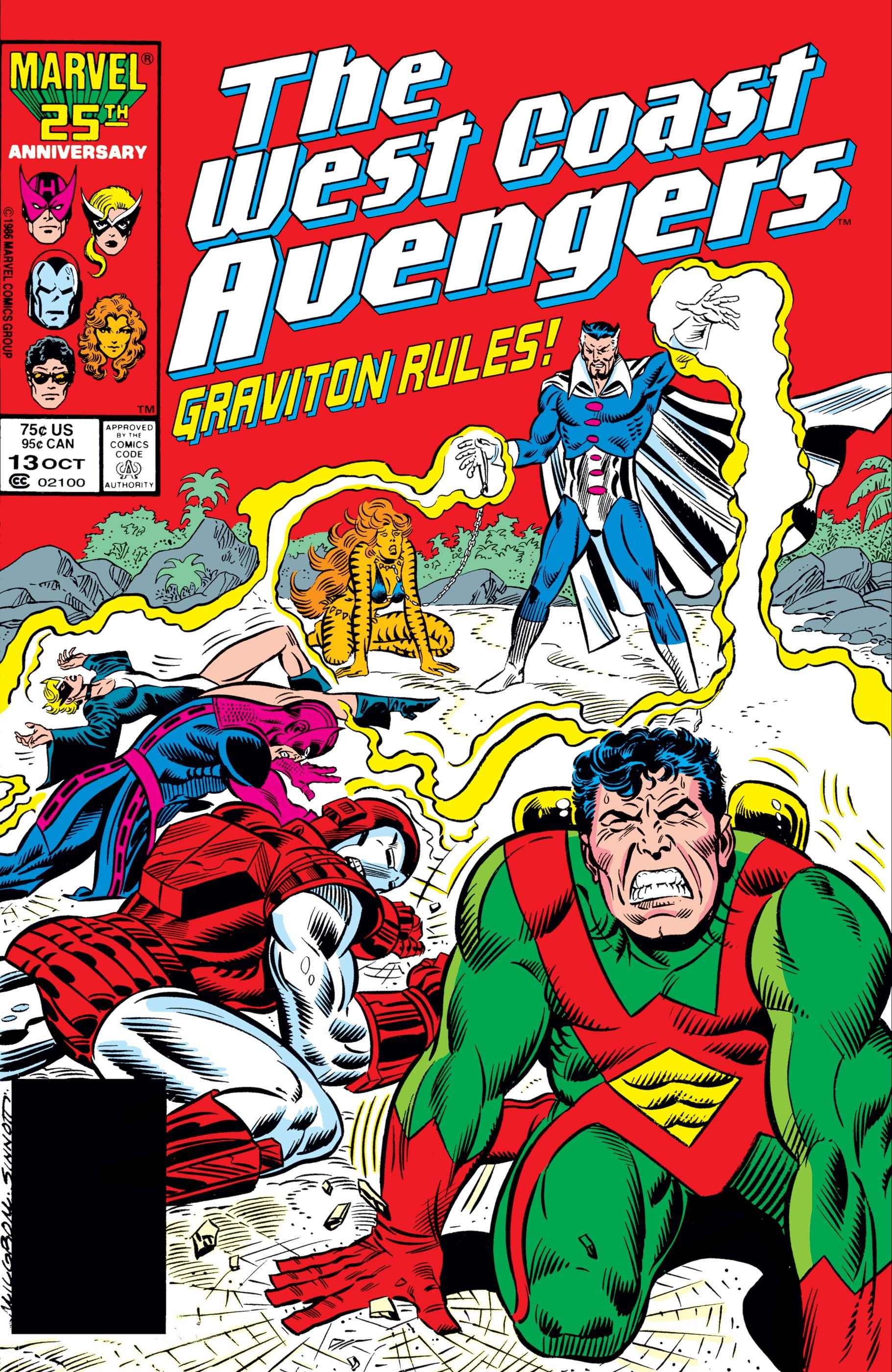 West Coast Avengers (1985) #13