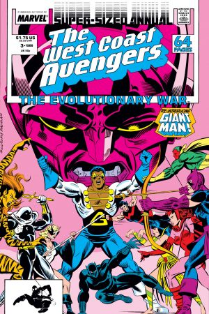 West Coast Avengers Annual (1986) #3