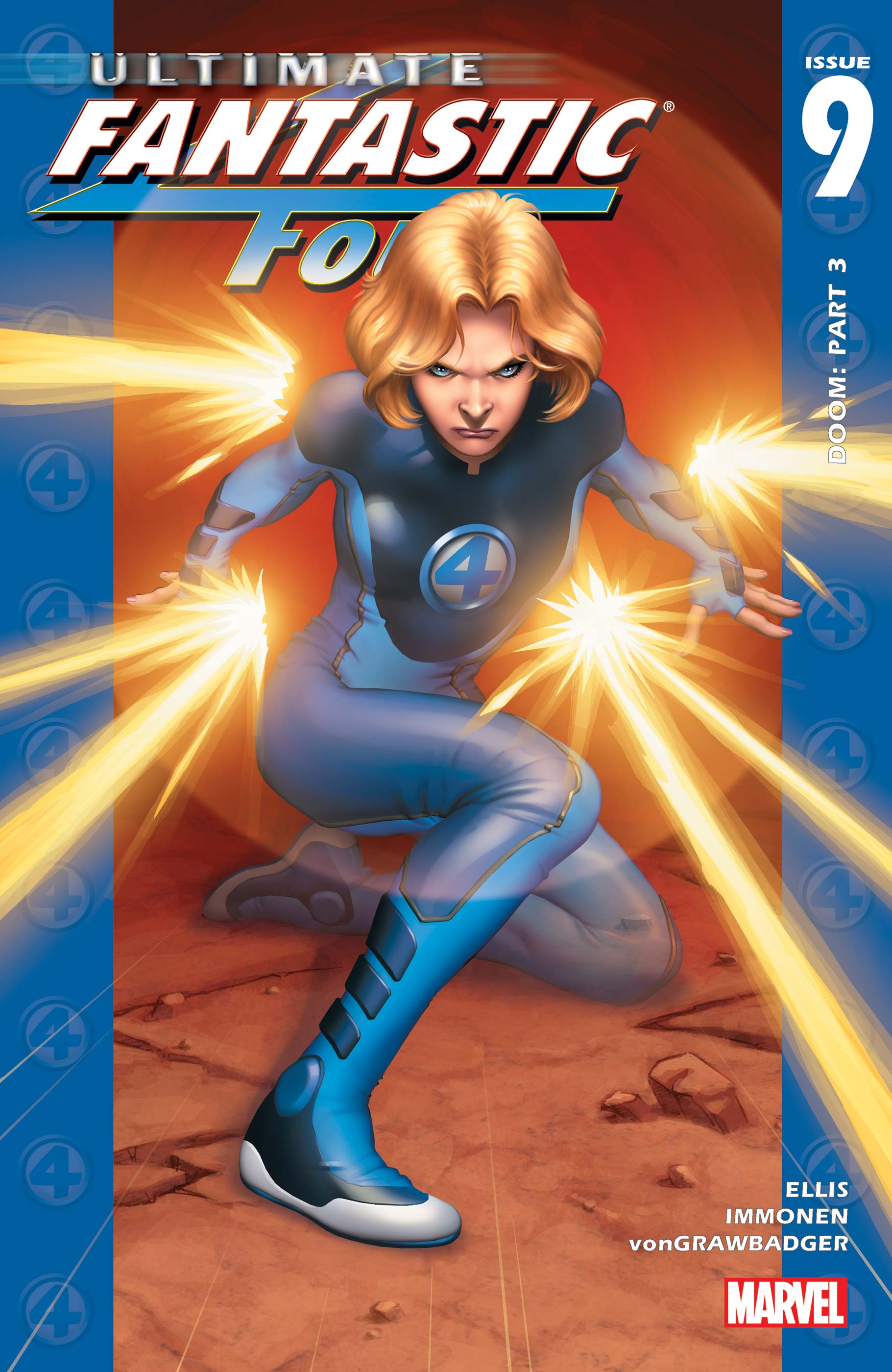 Ultimate Fantastic Four (2003) #9