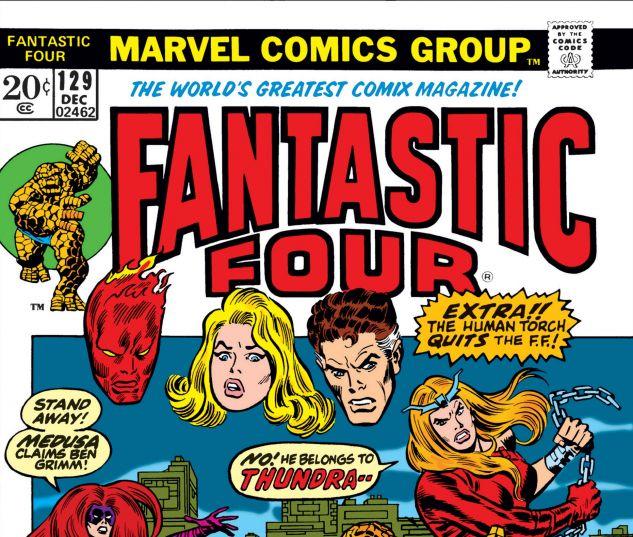 FANTASTIC FOUR (1961) #129