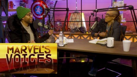 Jeremie Harris Endorses the Legion Dance Party Break on Marvel's Voices Podcast