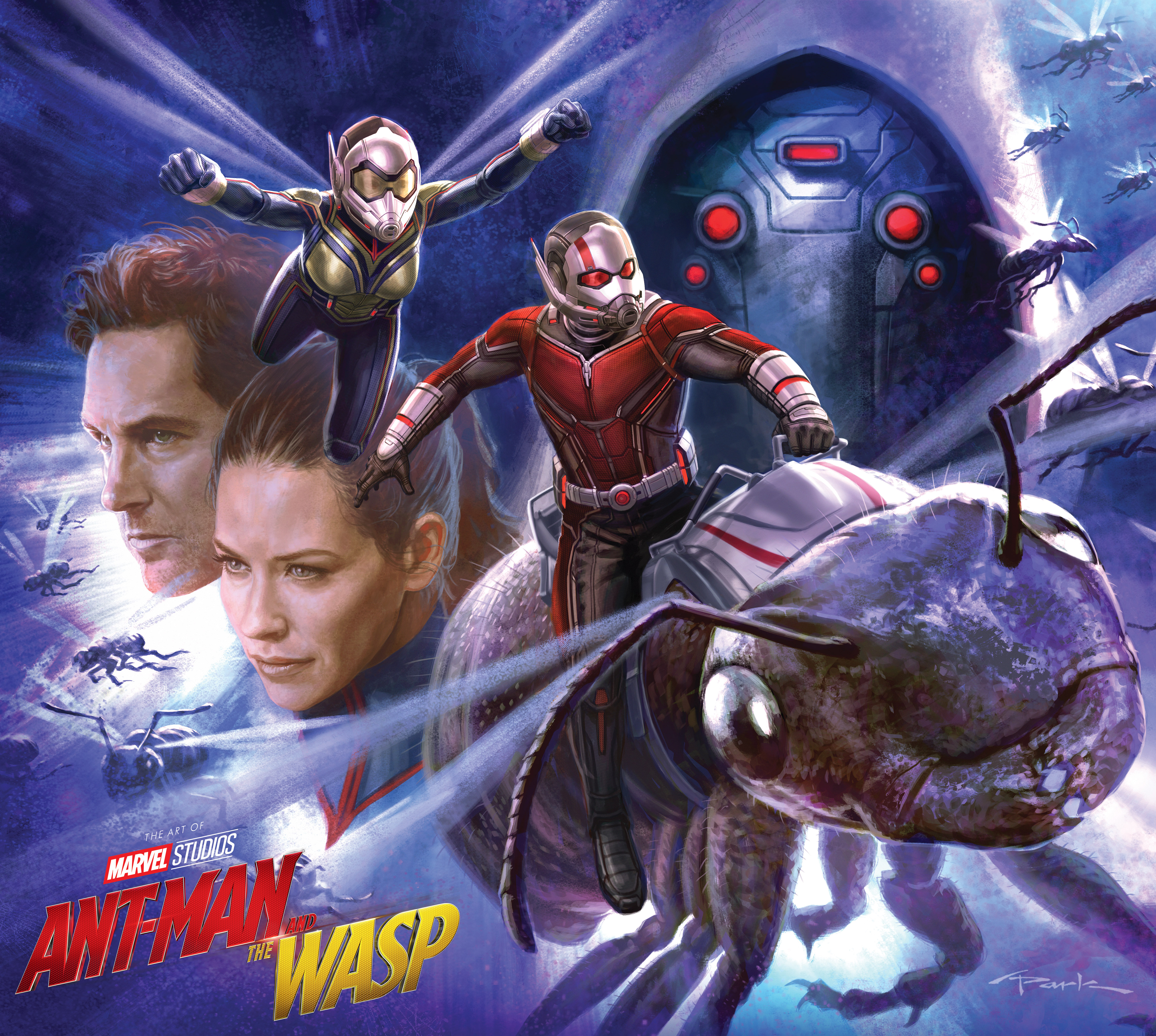Marvel's Ant-Man And The Wasp: The Art Of The Movie (Hardcover)