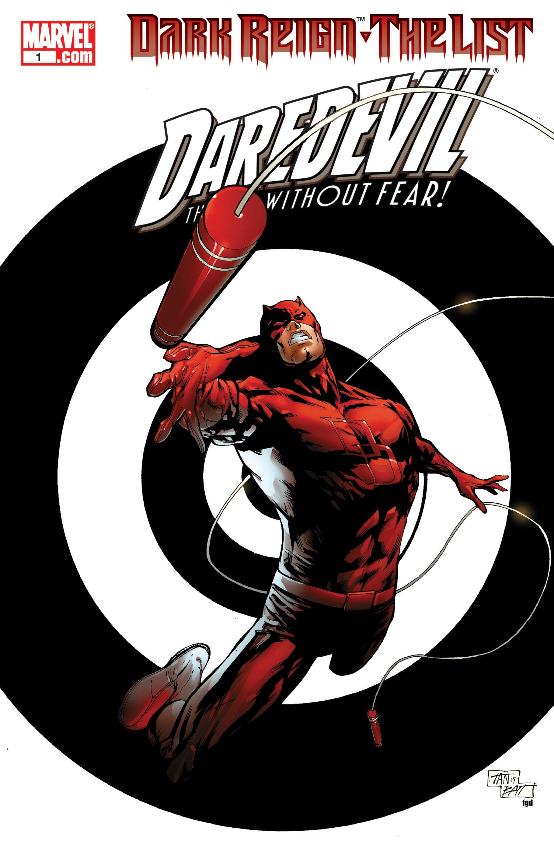 Dark Reign: The List - Daredevil (2009) #1