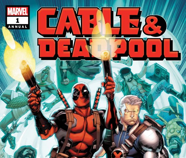 cover from Cable/Deadpool Special (2018) #1