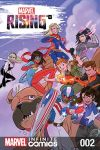cover from Marvel Rising Kids Infinite Comic (2018) #2