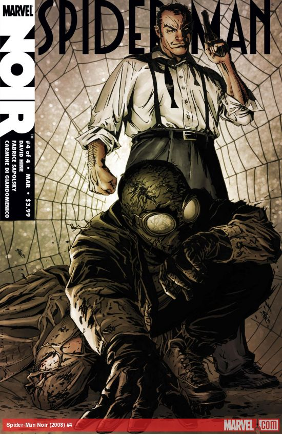 Spider-Man Noir (2008) #4