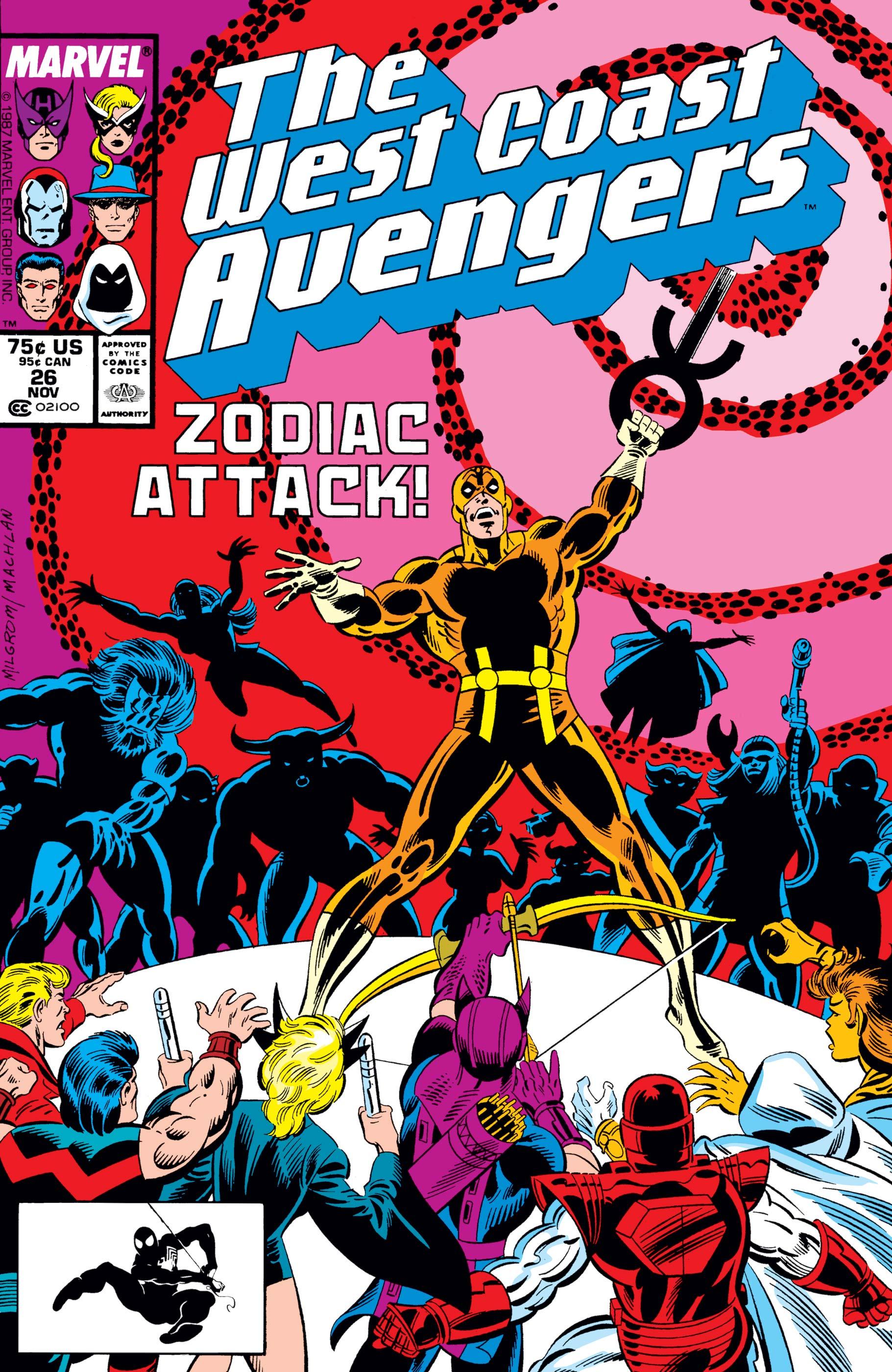 West Coast Avengers (1985) #26