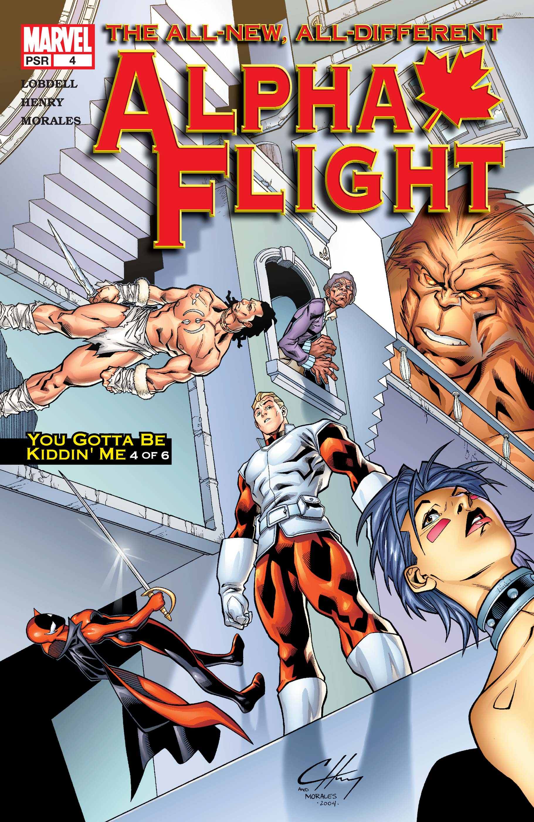 Alpha Flight (2004) #4