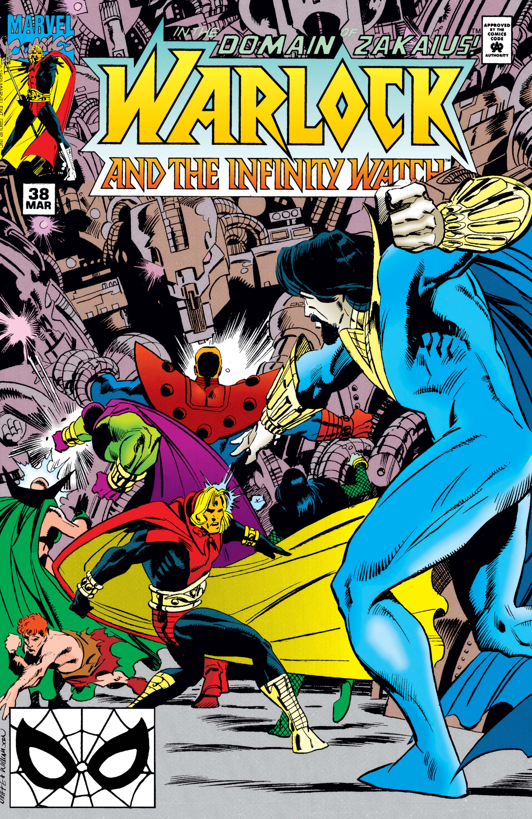 Warlock and the Infinity Watch (1992) #38