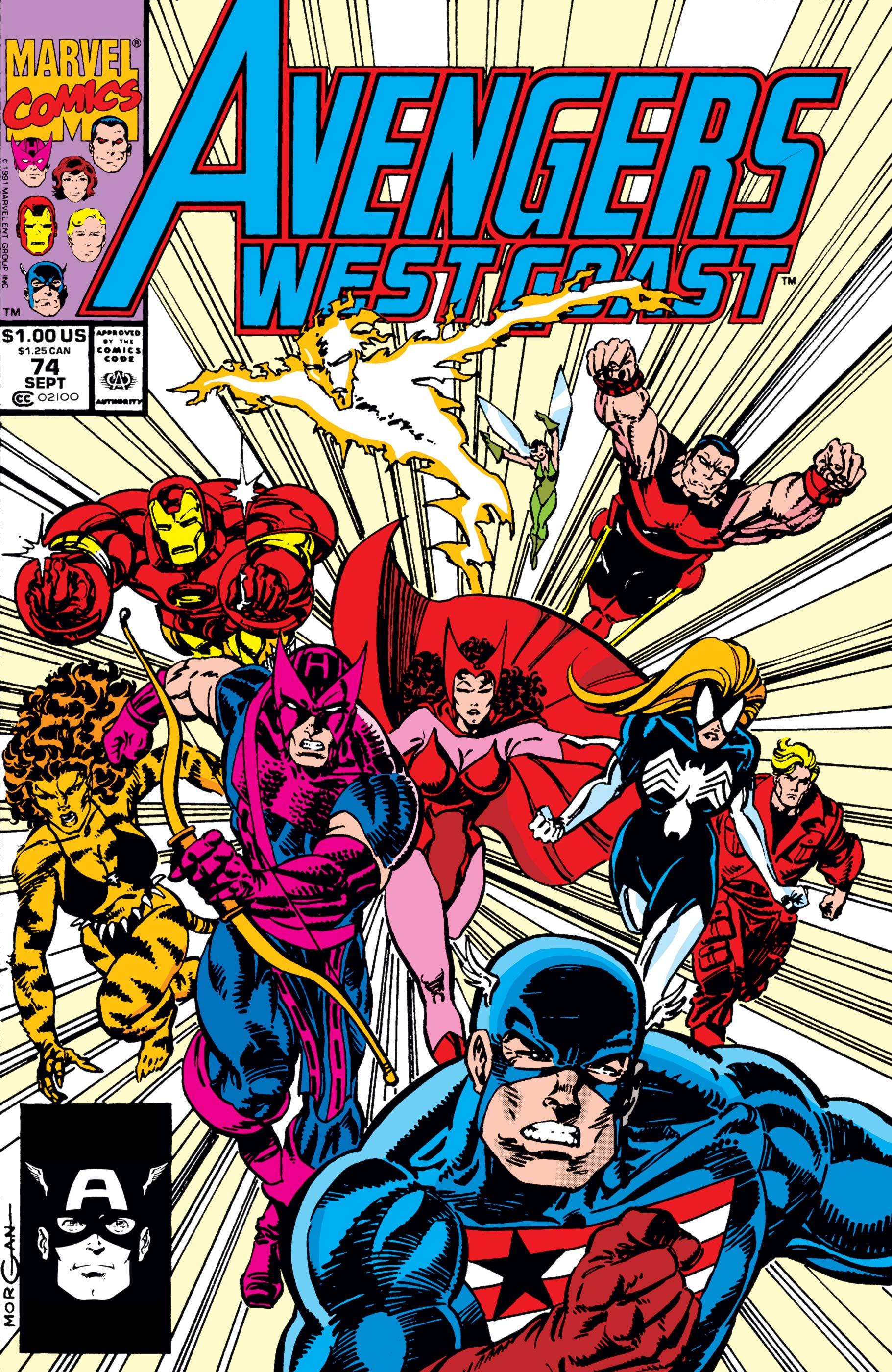 West Coast Avengers (1985) #74