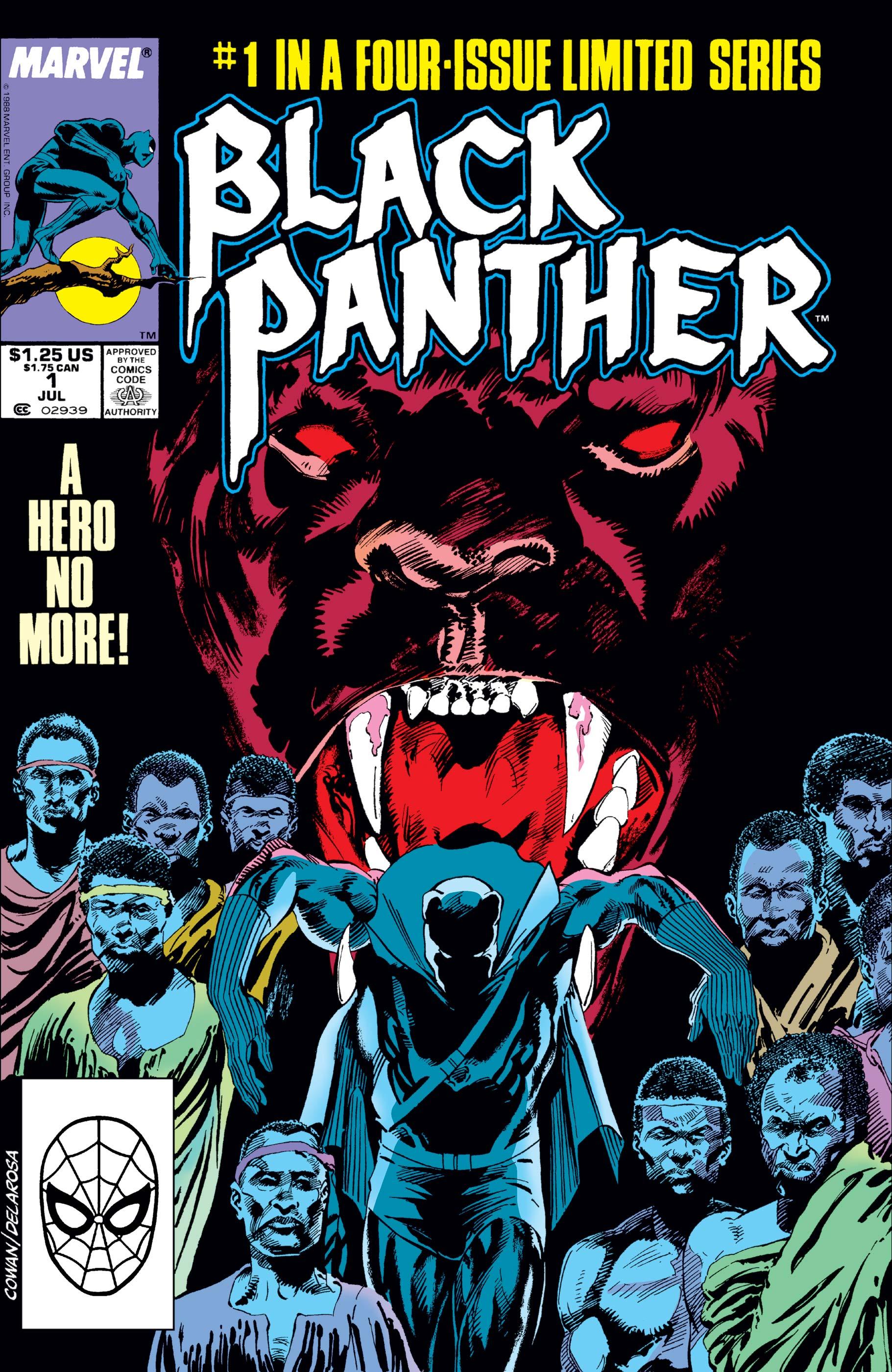 Black Panther (1988) #1