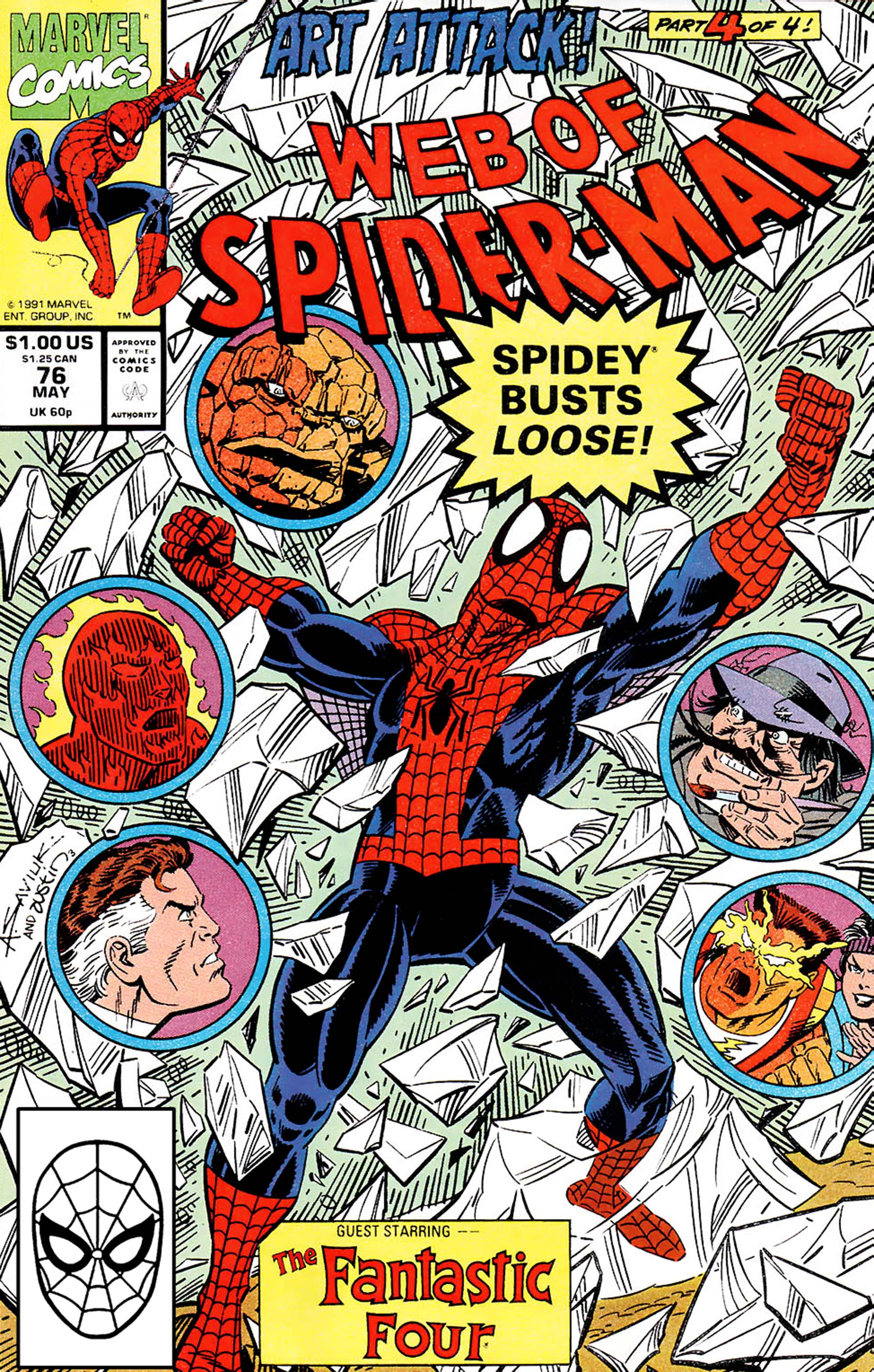 Web of Spider-Man (1985) #76