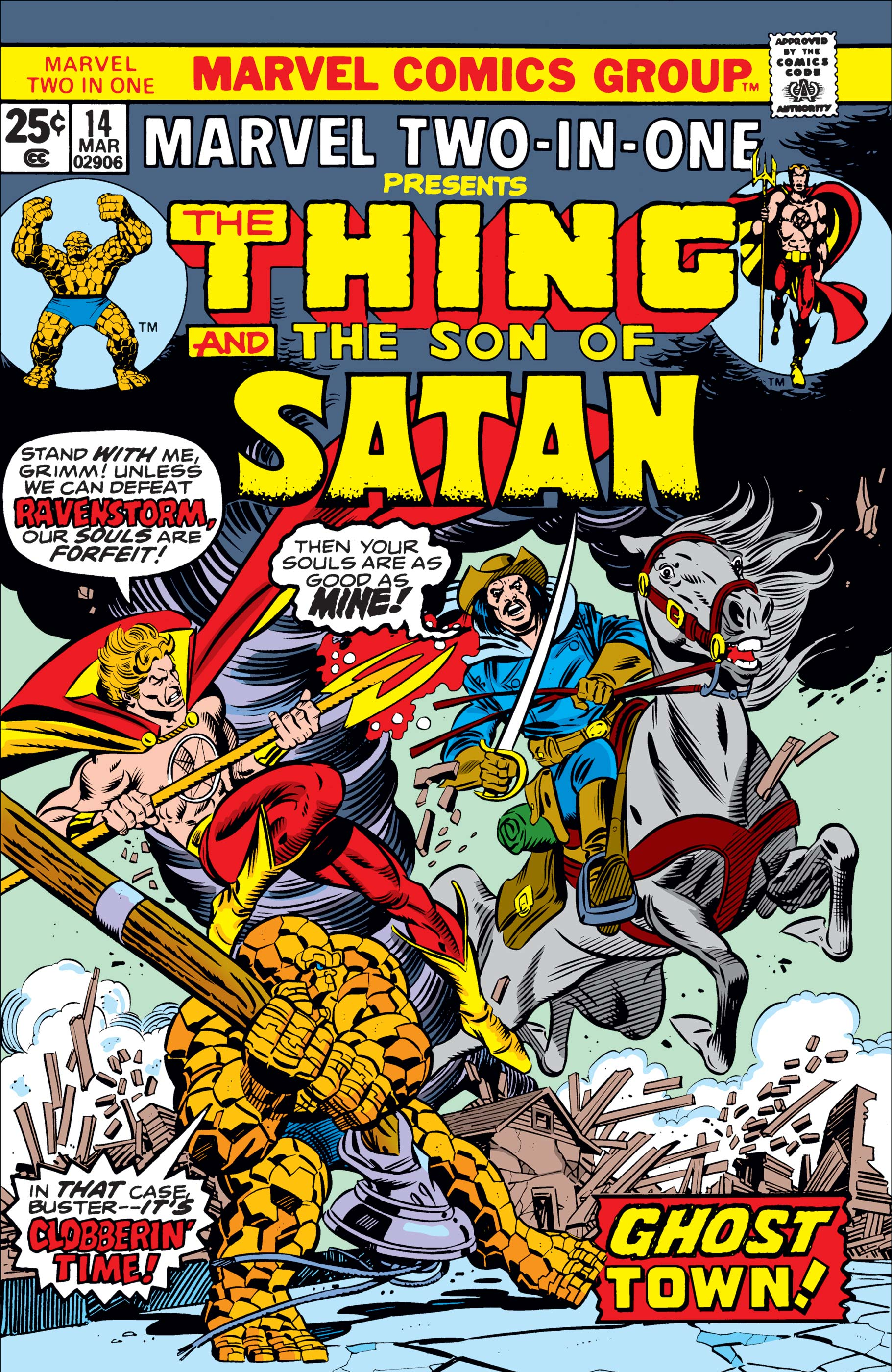 Marvel Two-in-One (1974) #14