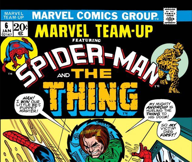 MARVEL TEAM-UP (1972) #6