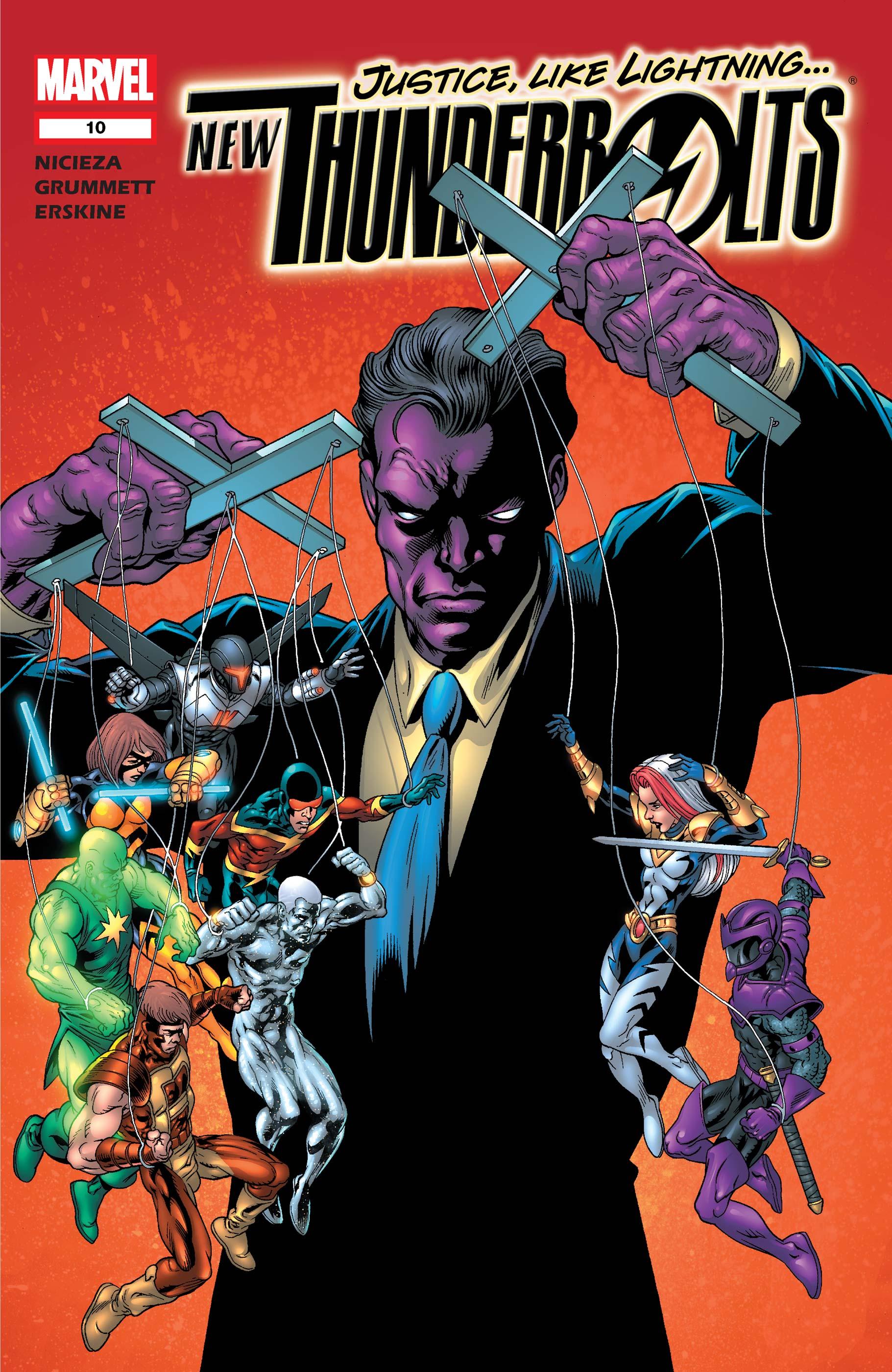 New Thunderbolts (2004) #10