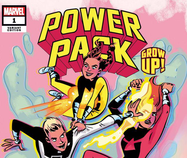 POWER PACK: GROW UP! 1 CHARRETIER VARIANT #1