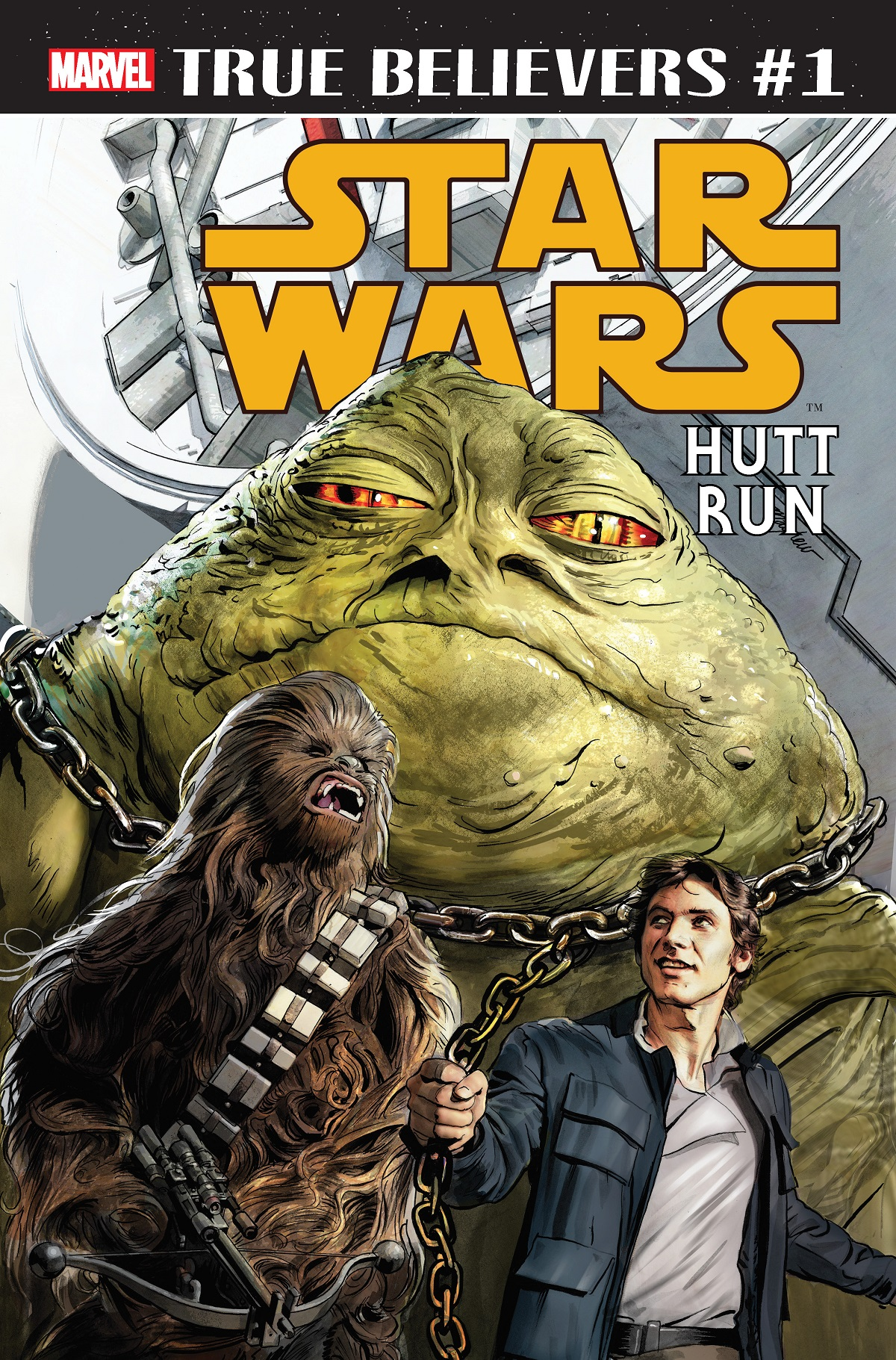 True Believers: Star Wars - Hutt Run (2019) #1