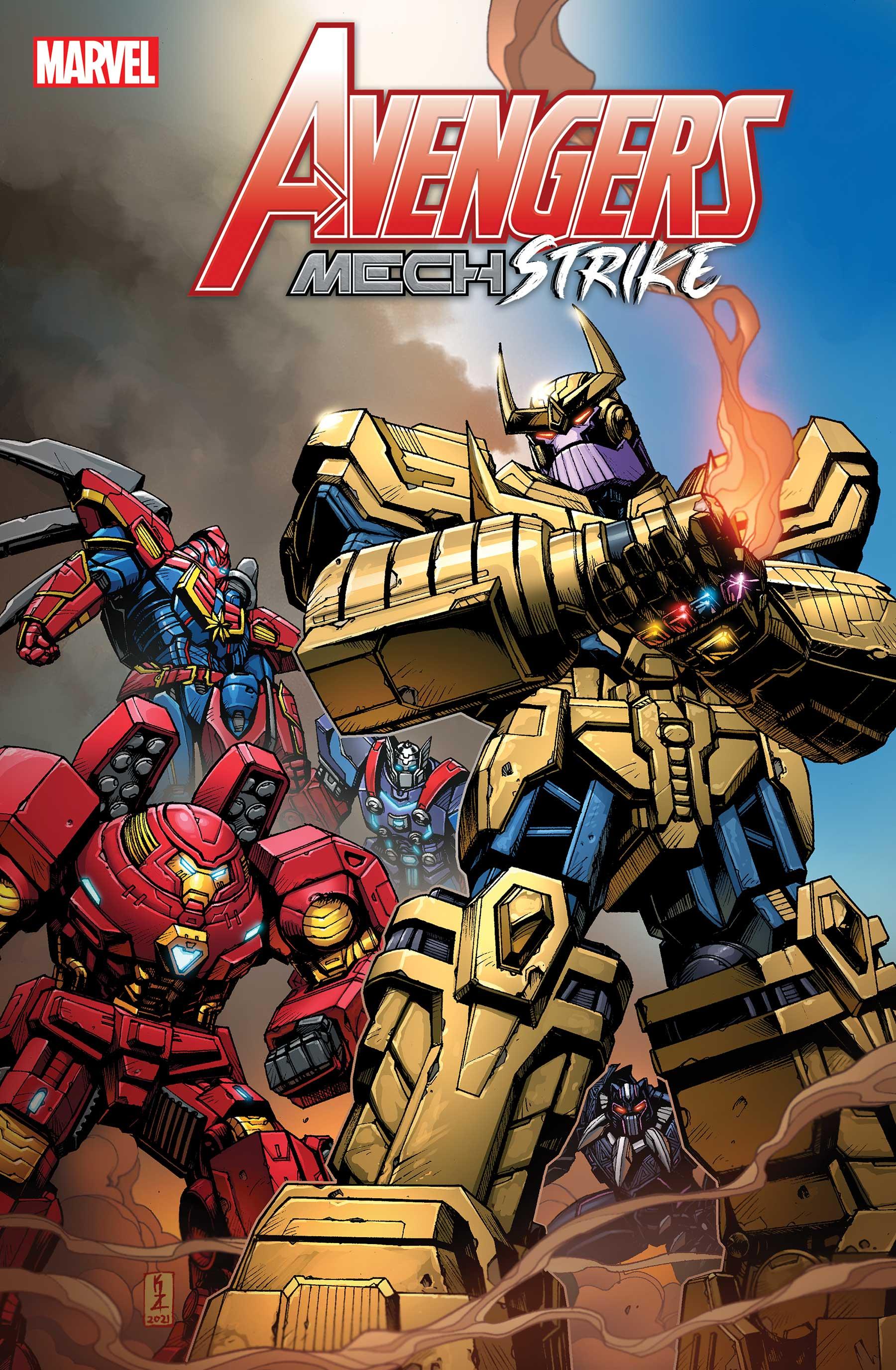 Avengers Mech Strike (2021) #4