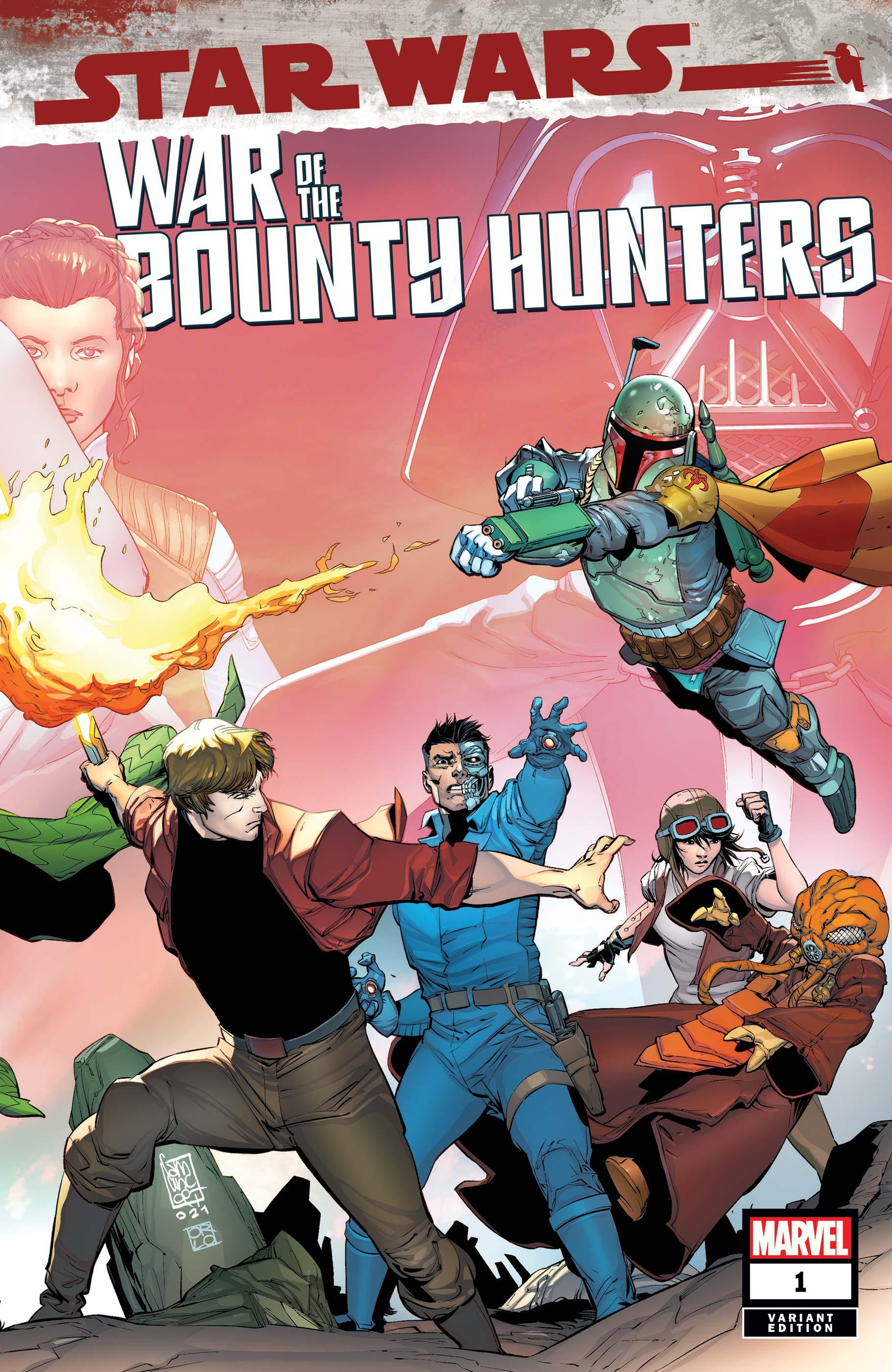 Star Wars: War of the Bounty Hunters (2021) #1 (Variant)
