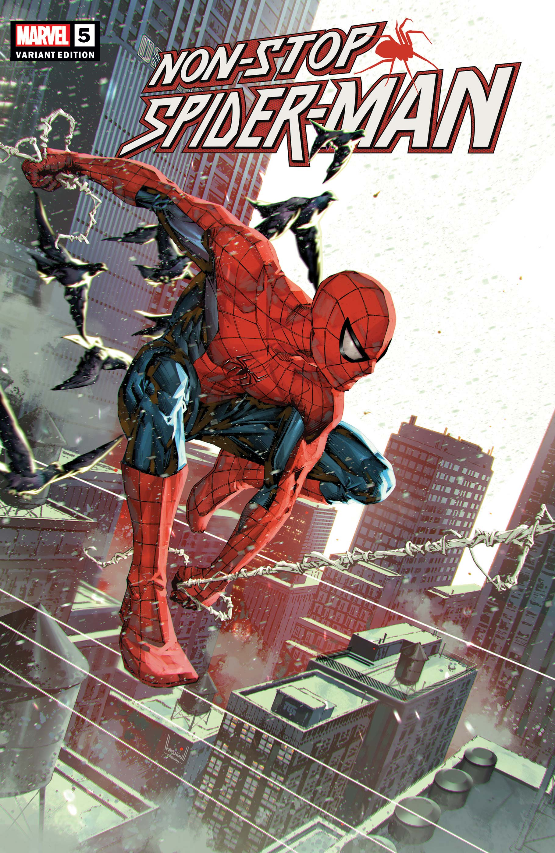 Non-Stop Spider-Man (2021) #5 (Variant)