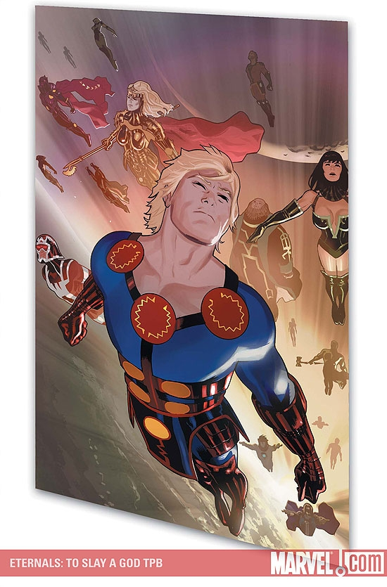 Eternals: To Slay a God (Trade Paperback)