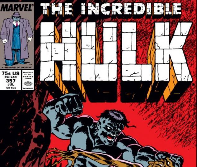 INCREDIBLE HULK #357 COVER