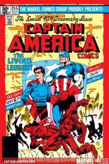 Captain America (1968) #255