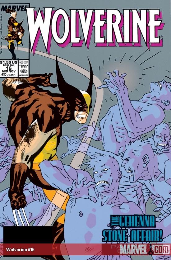 Resultado de imagem para WOLVERINE 1988 # 16