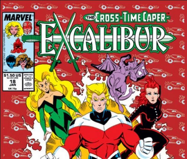 EXCALIBUR #18 COVER