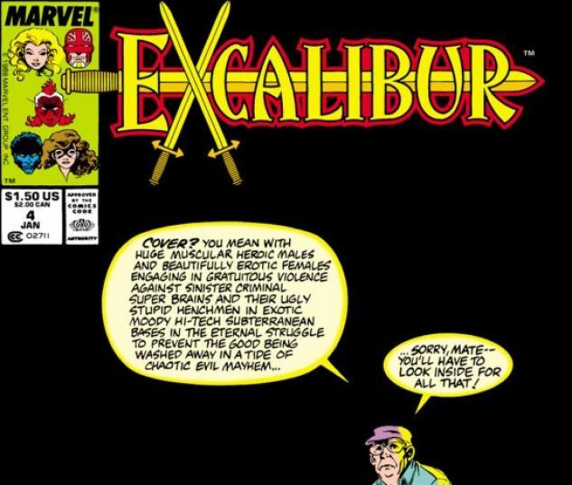 EXCALIBUR #4 COVER