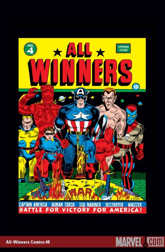 All-Winners Comics (1941) #4