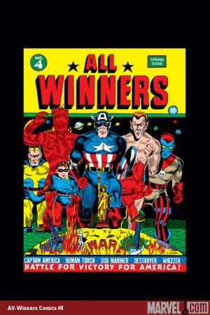 Marvel Masterworks: Golden Age All-Winners Comics Vol. (2005)