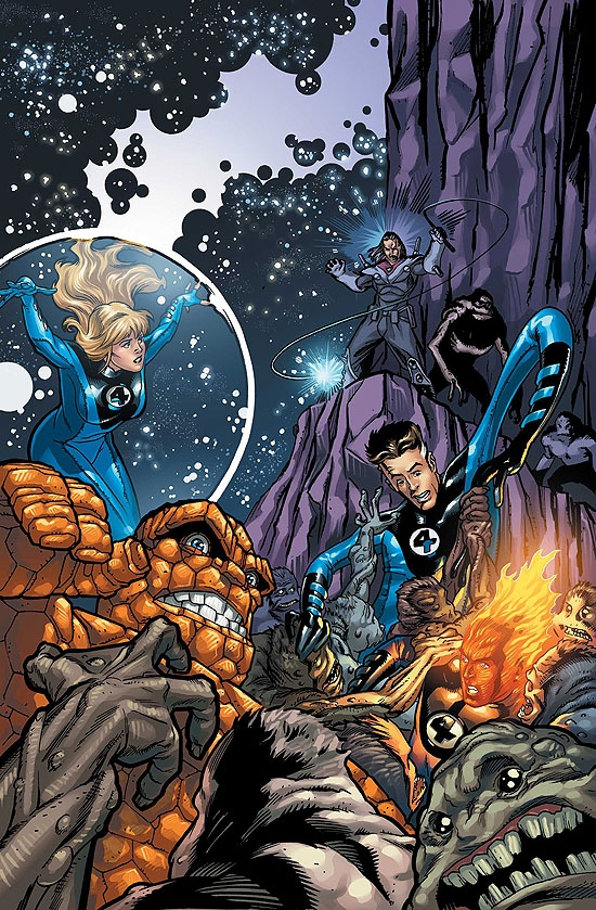 MARVEL ADVENTURES FANTASTIC FOUR VOL. 4: COSMIC THREATS DIGEST (Digest)