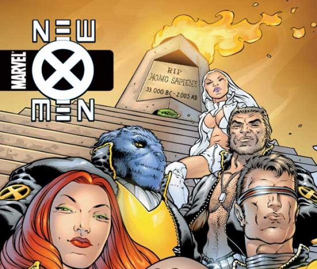 NEW X-MEN VOL. I: E IS FOR EXTINCTION TPB COVER