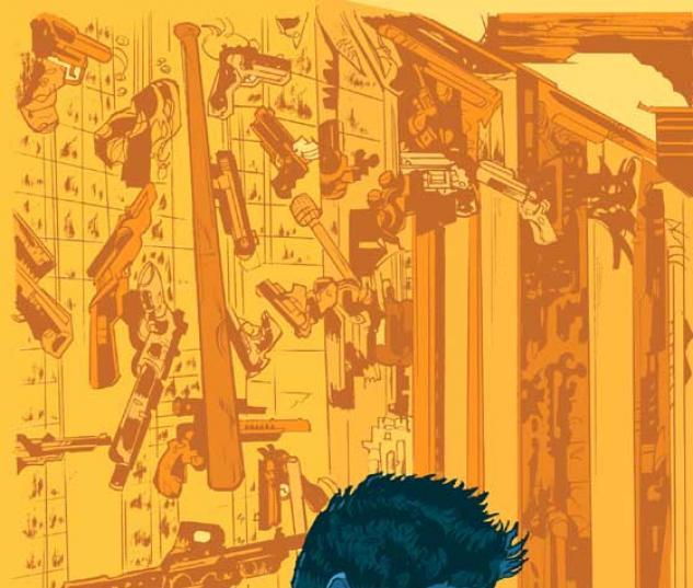 GUN THEORY (2004) #4 COVER